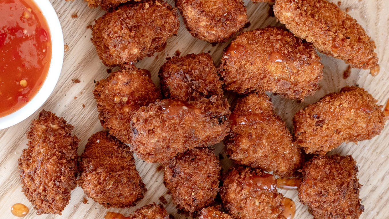 Pork Nuggets with Sweet Chilli Sauce
