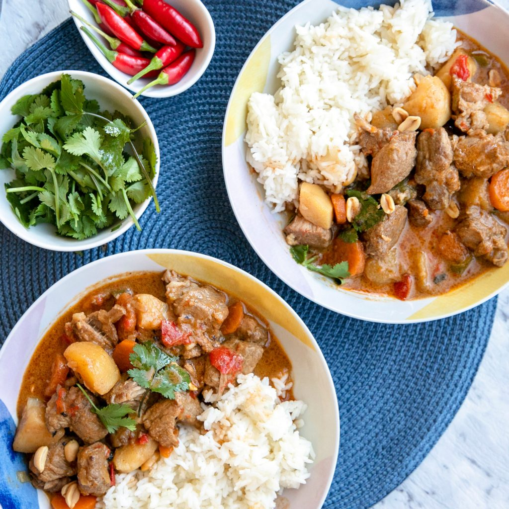 SLOW COOKED PORK MASSAMAN CURRY