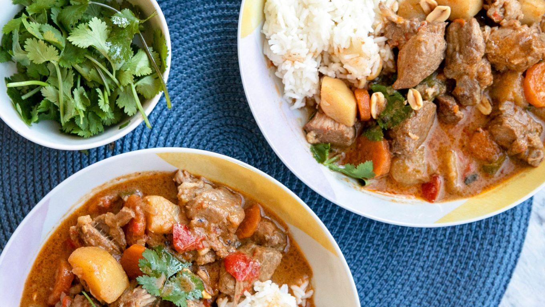Slow Cooker Pork Massaman Curry